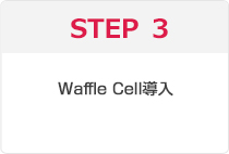 STEP3 Waffle Cell導入